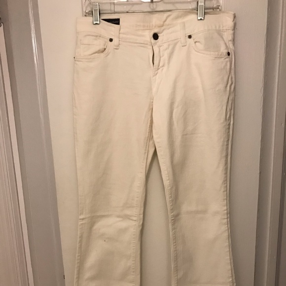 Citizens Of Humanity Denim - Citizens of humanity white jeans